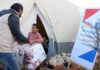 Winter Aid Project in winter season